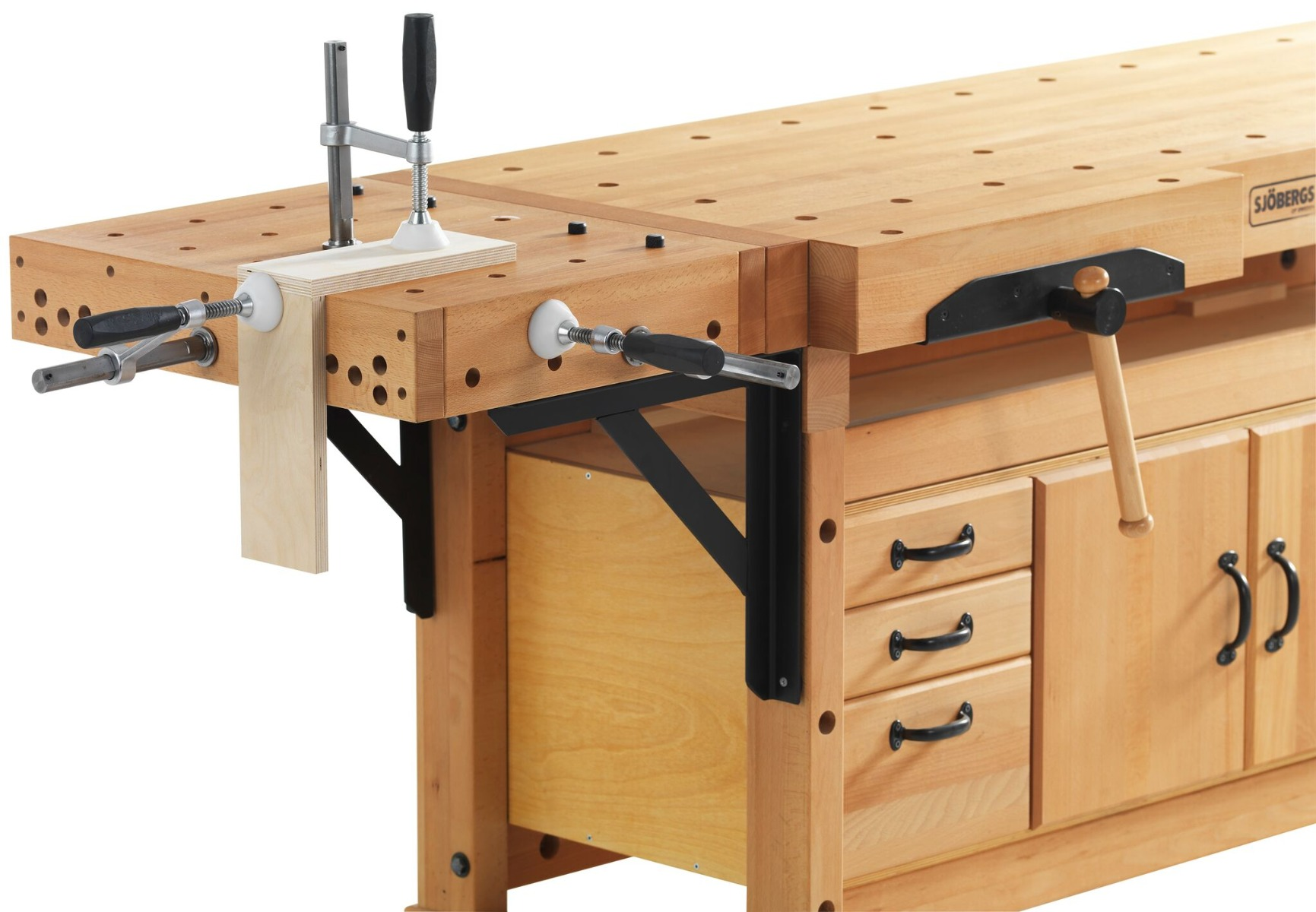 workbench clamping platform